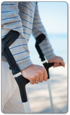 Recovery after hamstring surgery will require a cast, removable brace and/or crutches.